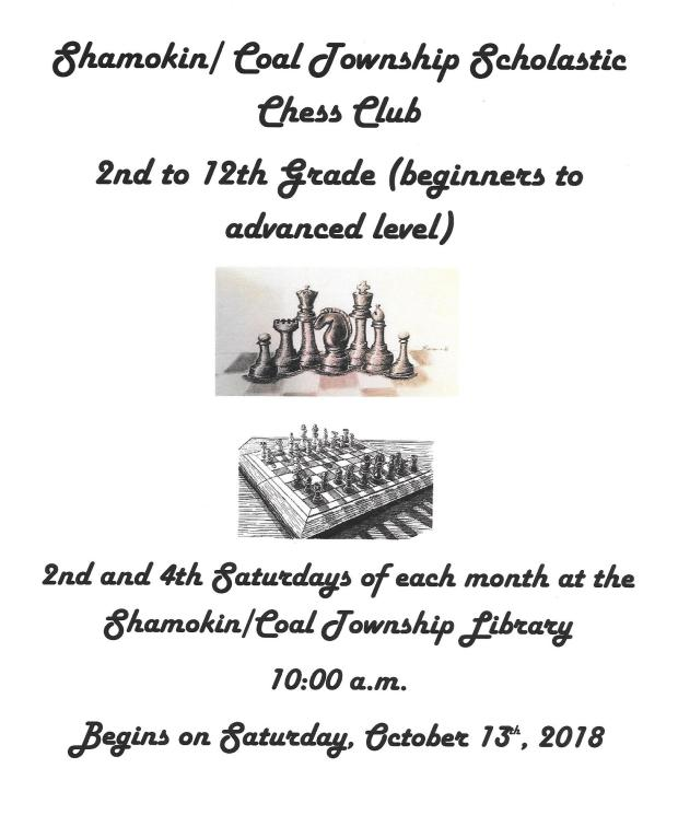 Scholastic Chess Club October0014