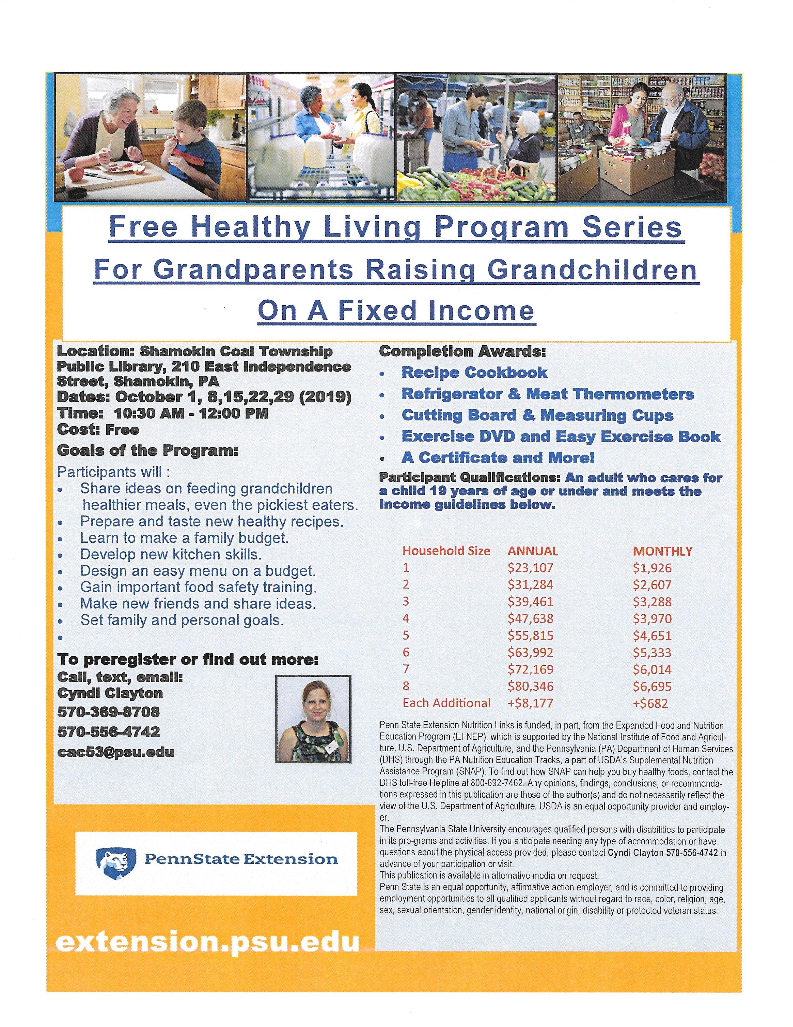 Penn State Extension Grandparent class