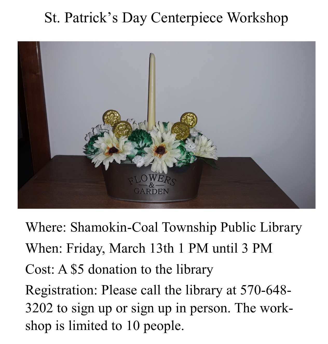 St. Pat flyer